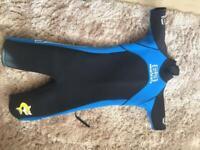 Child's dry/wet suit beach wear