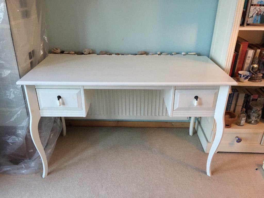 Ikea Edland Dressing Table Painted White