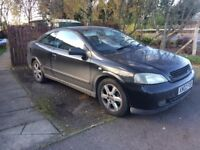 Vauxhall Astra Coupe, Great Condition, 12 Months MOT, Warranty, Serviced