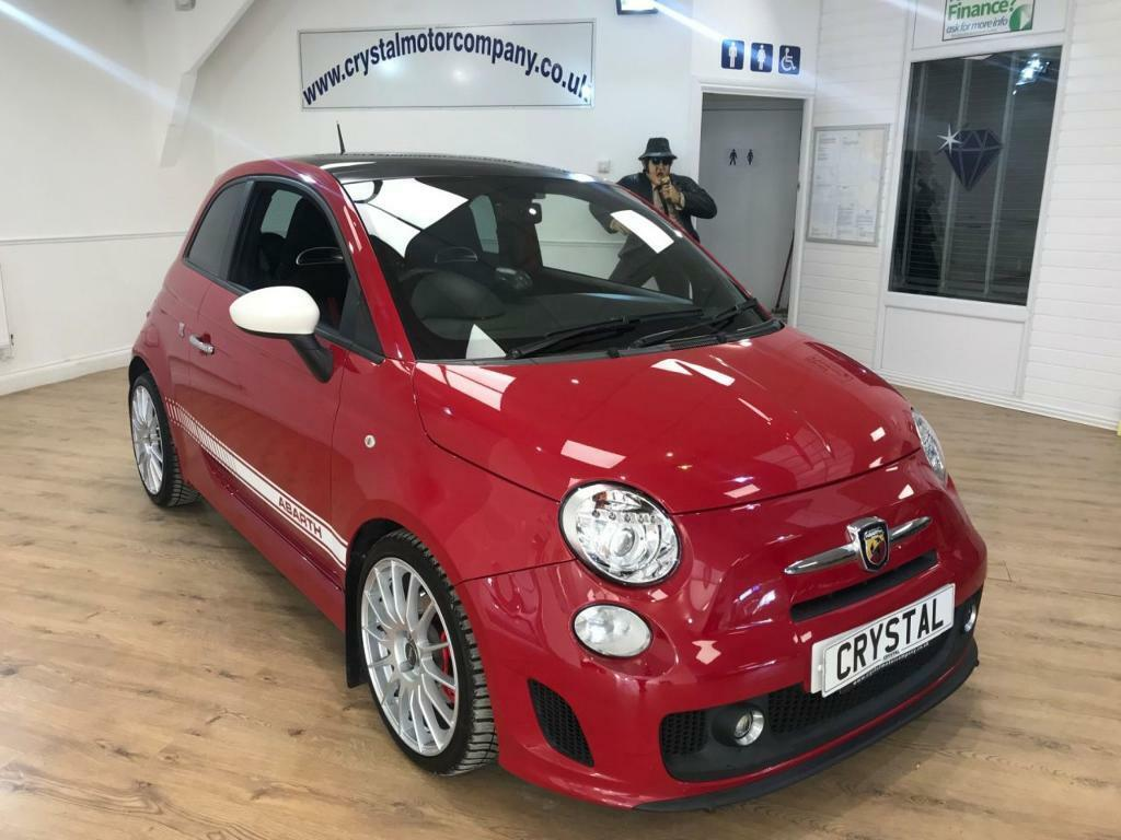 ABARTH 500 1.4 ABARTH 3d 135 BHP INCREASED BY 35 BHP !!! (red) 2011
