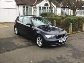 Bmw 1 series 2008 diesel well maintained £30 road tax