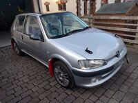 Peugeot 106 1.6 16v - Rally, Track or Hill Climb Car