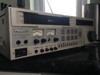 Panasonic SVHS edit deck. AG7350