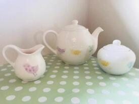 Beautiful hand painted tea set