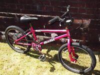 BMX Styled bicycle