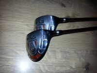 PING 'TFC127' 3 & 7 Drivers - Graphite Shaft - Very Good Condition - Bargain £60 for the pair.