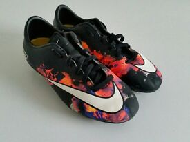 Nike mercurial cr7s size UK 2 in good condition