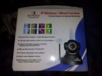 DB POWER IP WIRELESS/ WIRED CCTV CAMERA BRAND NEW IN BOX