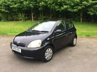 TOYOTA YARIS 1.0L T3 2003 5DOOR MOT TILL24/10/2018 15 SERVICES HPI CLEAR EXCELLENT CONDITION