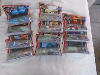 Disney Cars, Twin Packs. Characters from 1st Cars Film. Unopened original packing