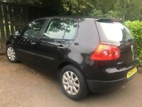 2005 55 VOLKSWAGEN GOLF TDI SE / ONLY 53000 MILES / 2 KEYS