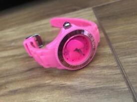 Girls Pink Ice Watch