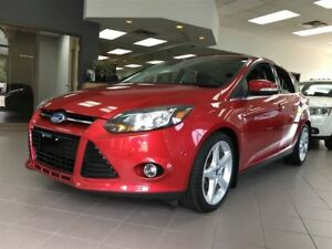 2012 Ford Focus Titanium/CARPROOF CLEAN/HEATED SEATS/LEATHER