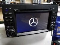 BRAND NEW MERC SPRINTER ,VIANO, VITO A & B CLASS ANDROID CAR STEREO WITH B.TOOTH, WIFI,FULL EU MAPS