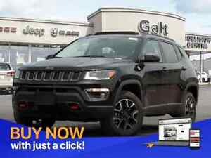 2019 Jeep Compass TRAILHAWK 4X4 | LEATHER SUNROOF NAV UCONNECT