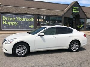 2010 Infiniti G37 / AWD / LEATHER / SUNROOF Luxury