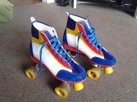 Genuine 80's Rollerskates size 5/6