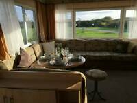 6 Birth Caravan to rent situated in Mullion Park, Helston Cornwall. RIGHT NEXT TO CLUB HOUSE!