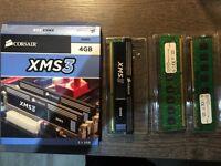 3 x 2GB DDR3 Desktop ram - mix