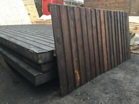 6 x 3 Heavy Duty close-board Fence Panels, Any size made to order