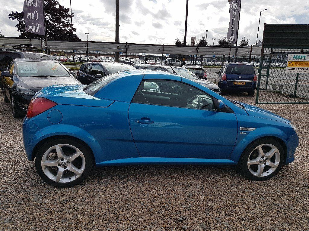 2006 Vauxhall Tigra 1.4 Sport hard top convertible cabriolet alloys leather