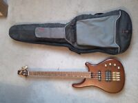 Westcoast Bass Guitar, with case