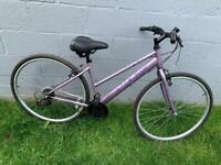 Ladies Apollo haze hybrid bike