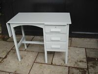 SMALL PAINTED GREY DESK