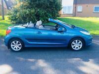 2009 Peugeot 207 cc sport convertible just had full service
