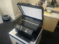 WF-7620 Epson office A3/A4 WiFi printer with scanner and photocopier (Megenta colour not working)