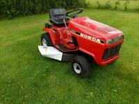 HONDA HT3810 PETROL RIDE ON LAWN MOWER SIDE SHOOT IN GOOD WORKING ORDER SERVICED £950