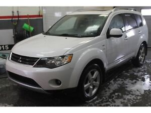 2008 Mitsubishi Outlander XLS 4WD Sportronic at Leather Sunroof