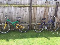 Two bikes for sale - female only bike left