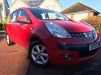 *IMMACULATE EXAMPLE*12 MTHS WARRANTY*2007(07)NISSAN NOTE 1.5 DCI DIESEL SE 5DR ONLY 75K 12 MTHS MOT*
