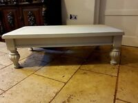 Quality Wooden Shabby Chic - Vintage Coffee Table - Country Cottage Solid Fine