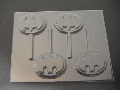Batman Emblem  Lollipop Chocolate Candy Soap Crayon Mold
