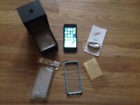 used boxed iphone 5, 16gb, black and slate, on vodafone and lebara,