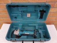 *****EMPTY CASE****** MAKITA DGA452 18v LXT li-ion ANGLE GRINDER EMPTY CASE
