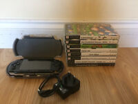 Playstation PSP with Games