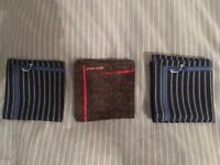 Jacob Cohen handkerchiefs £5 each