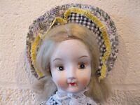 Doll ceramic head/arms/legs