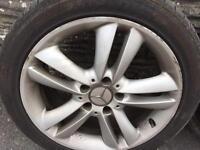 """Mercedes 17"""" alloys"""