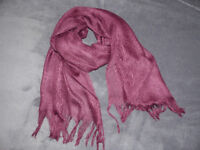 Beautiful lightweight scarves in assorted colours and designs.