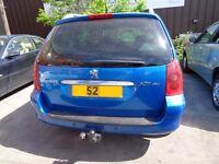 BREAKING --- Peugeot 307SW SE HDI Estate 2L Diesel 106BHP -----2002