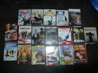 18 BRAND NEW SEALED DVDs