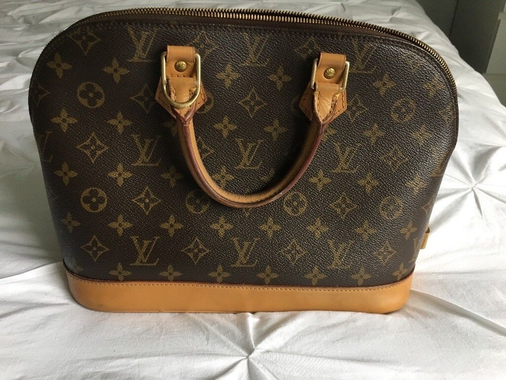 7ee0e349322e 100% genuine Louis Vuitton Alma PM monogram canvas RRP £1050 ...