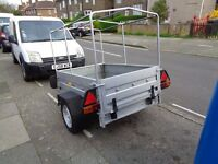 box trailer with cover 5 ft 3.4 ft