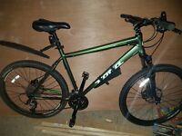 Kona pedal bike green light weight