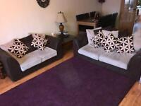 Fabric Sofa Set of 2