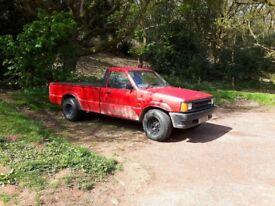 mazda b2000 1988 2l petrol rwd mini truck